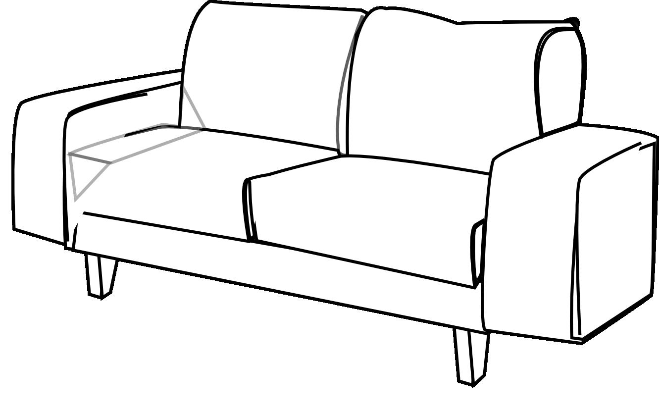Furniture clipart sofa 20clipart  Sofa Clip Art