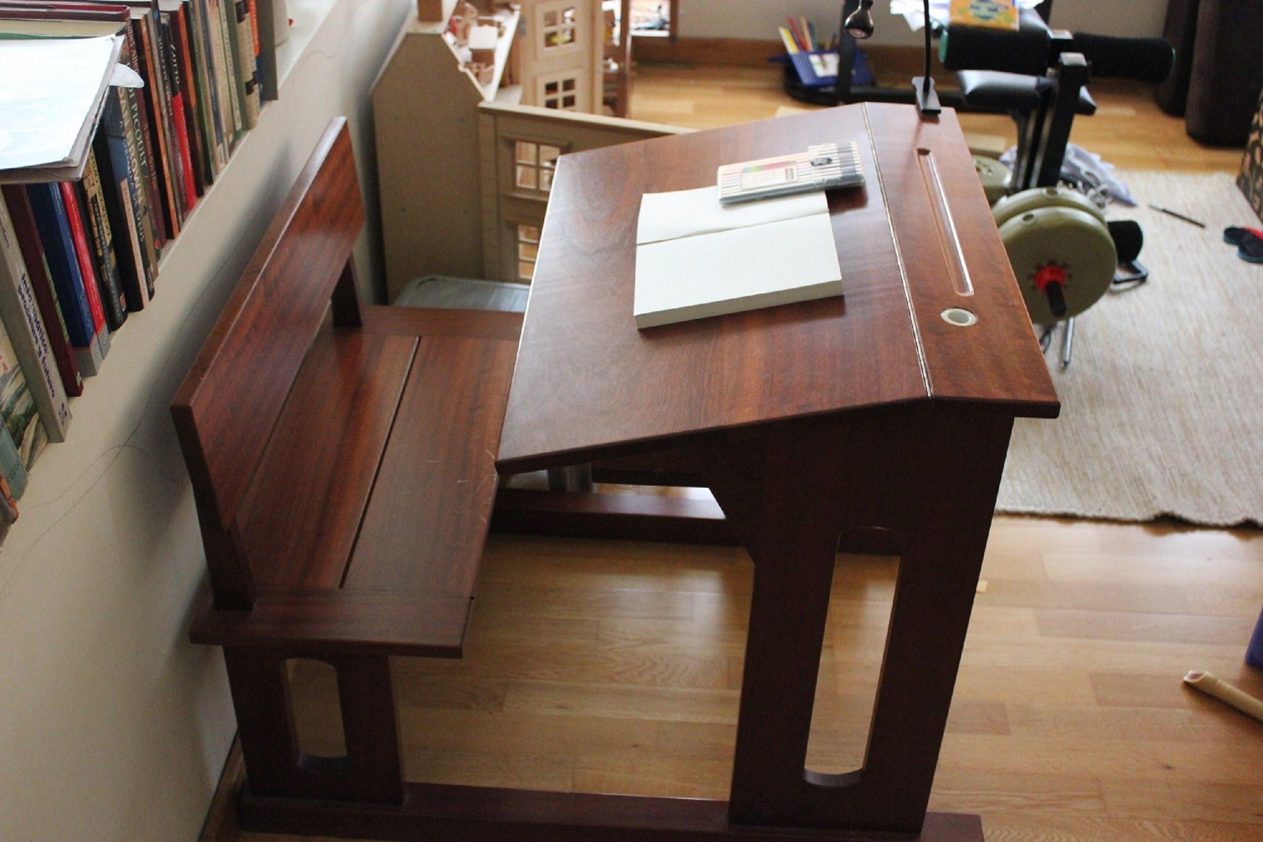 Furniture clipart solid Supplies Mahogany Desk  :