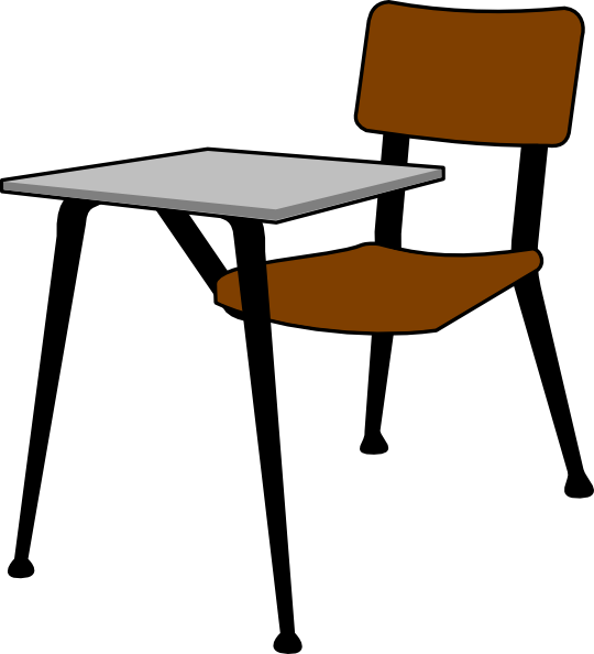 Table clipart student desk  Clker art online Download