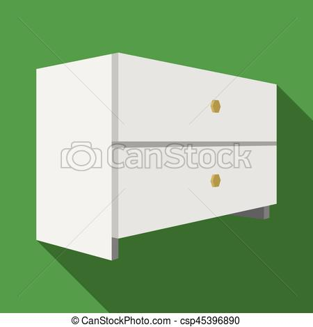 Furniture clipart things Things White Vectors  bedside