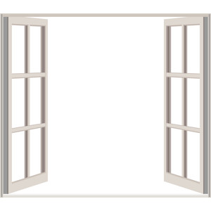 Window clipart window frame Just Frame Clipart Open Polyvore
