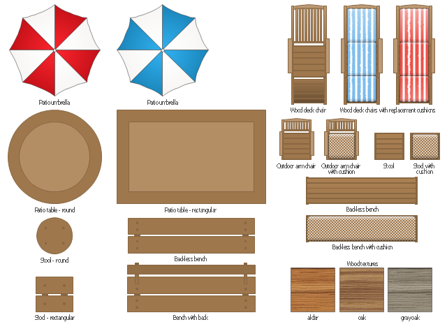 Wood clipart garden chair Furniture oak Garden wood Patio