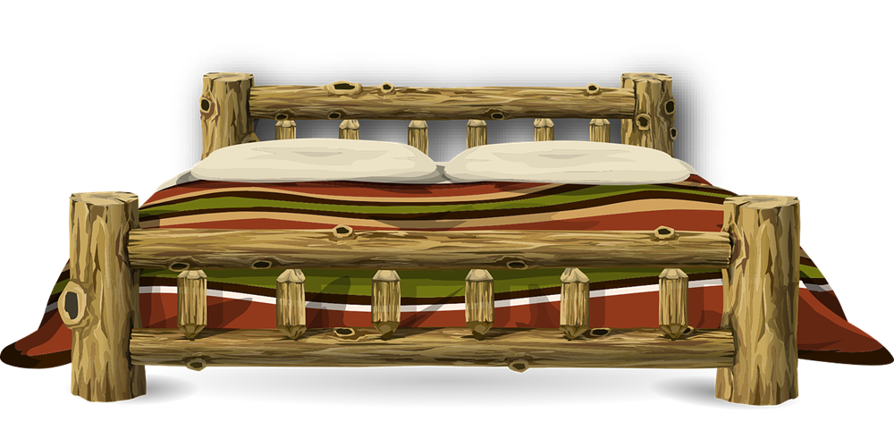 Furniture clipart wooden bed · Page Clip Free Bed
