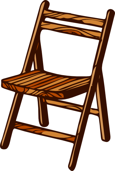 Timber clipart wood chair Folding clip Download Wooden as: