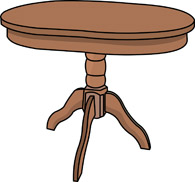 Furniture clipart wooden table Wood Clipart Wood Bathroom Furniture