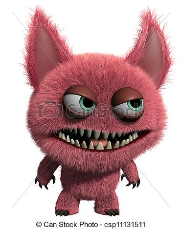 Furry clipart Gremlin 3d csp11131511 Search Clipart