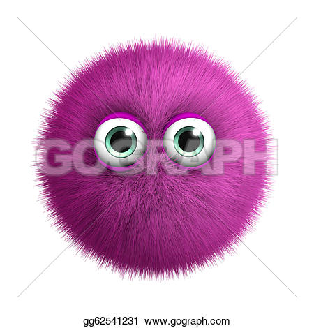 Pink Eyes clipart monster creature Pink Stock Clipart Stock monster