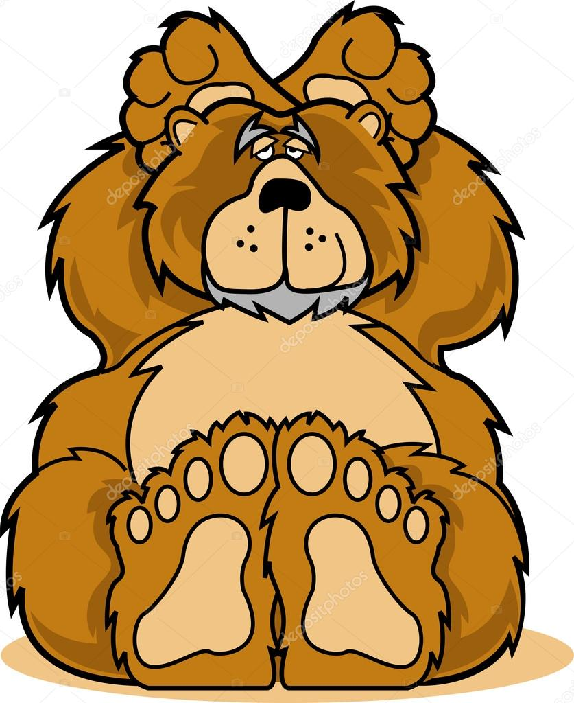 Furry clipart big bear #15