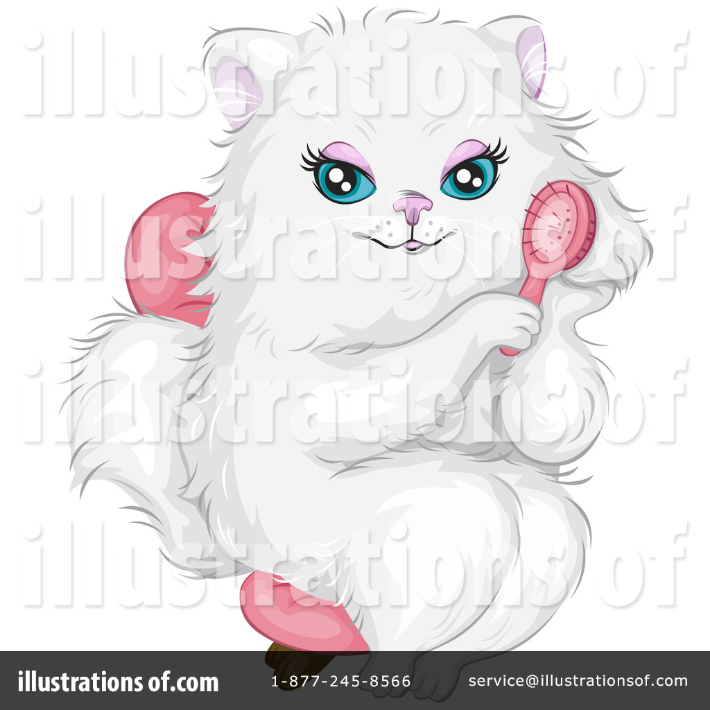 Furry clipart persian cat #4
