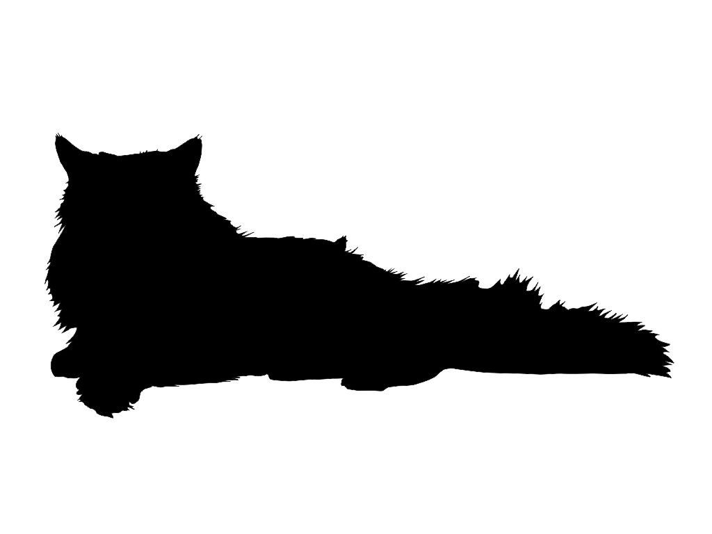 Furry clipart persian cat #6