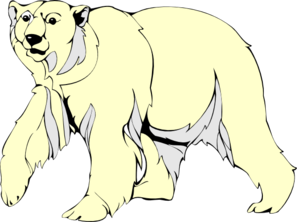 Furry clipart polar bear Download Walking vector Furry search