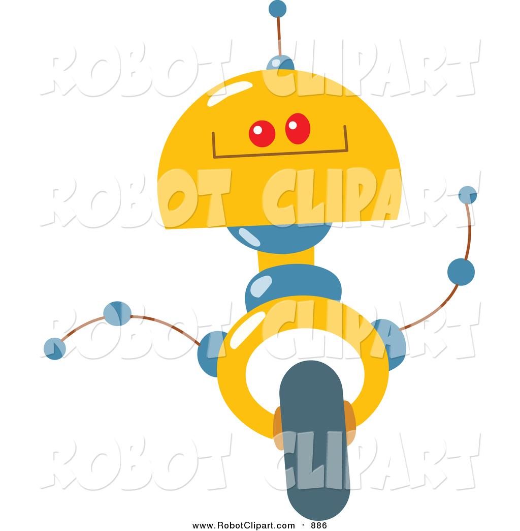 Futuristic clipart Free Robot Futuristic Art and