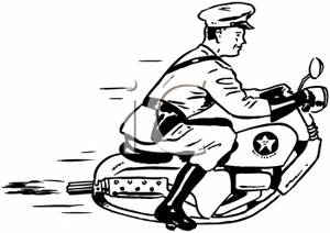 Futuristic clipart Free Royalty Clipart Motorcycle Riding