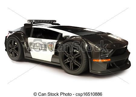 Futuristic clipart policeman #7