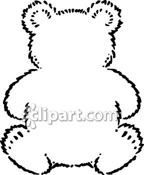 Teddy clipart fuzzy #15