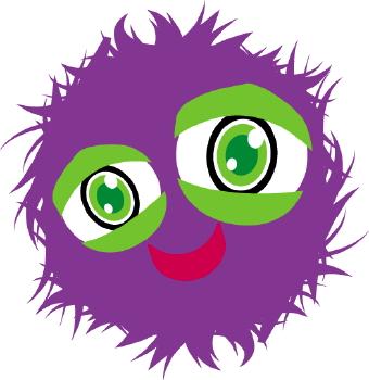 Fuzzy clipart cute #4
