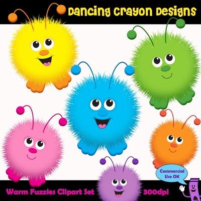 Fuzzy clipart cute music #12