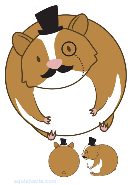 Fuzzy clipart hamster #15