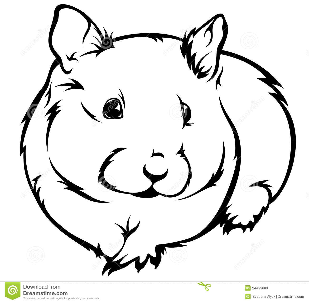 Fuzzy clipart hamster #10