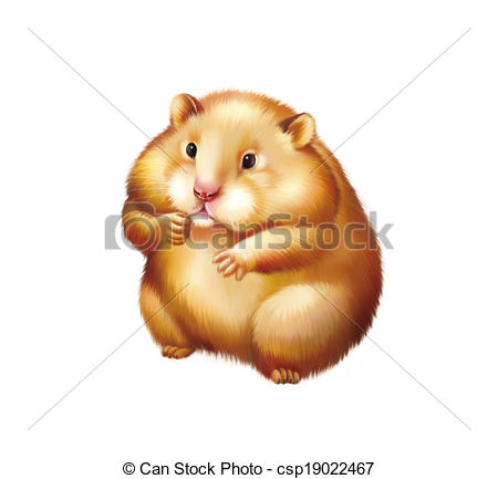 Fuzzy clipart hamster #6
