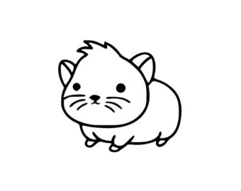Fuzzy clipart hamster #5