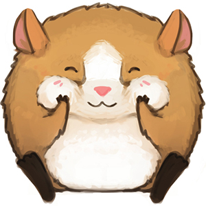 Fuzzy clipart hamster #7