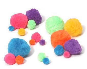 Fuzzy clipart pom pom #11