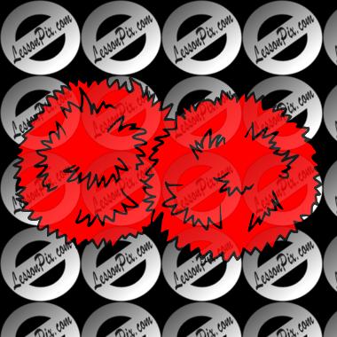 Fuzzy clipart pom pom #13