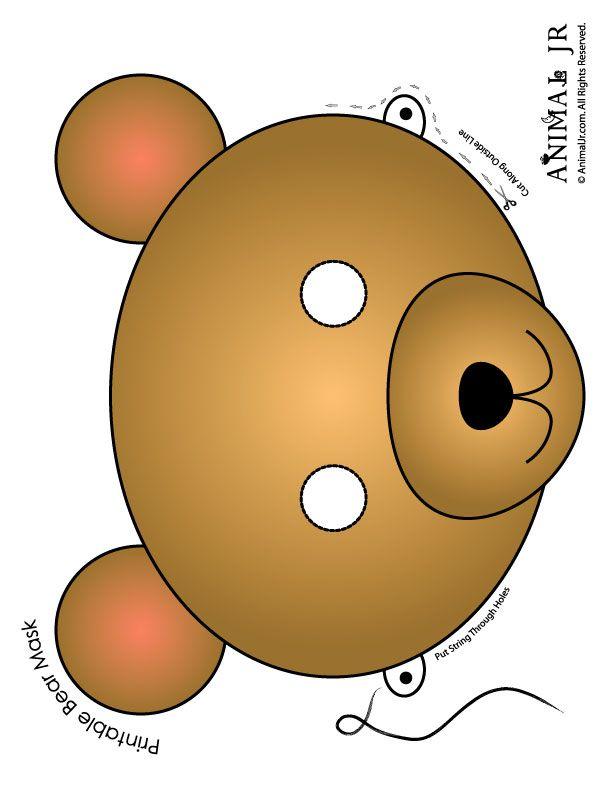 Teddy clipart face #2