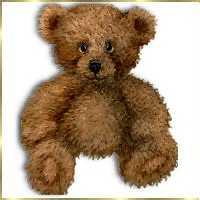 Teddy clipart fuzzy #2
