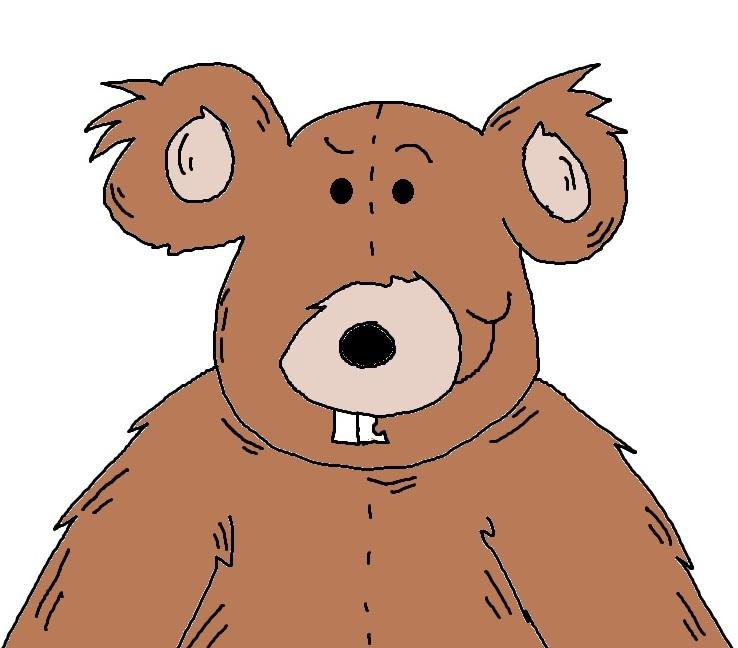 Teddy clipart fuzzy #1