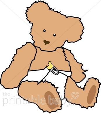 Teddy clipart fuzzy #3