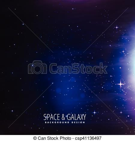 Galaxy clipart background drawing #12