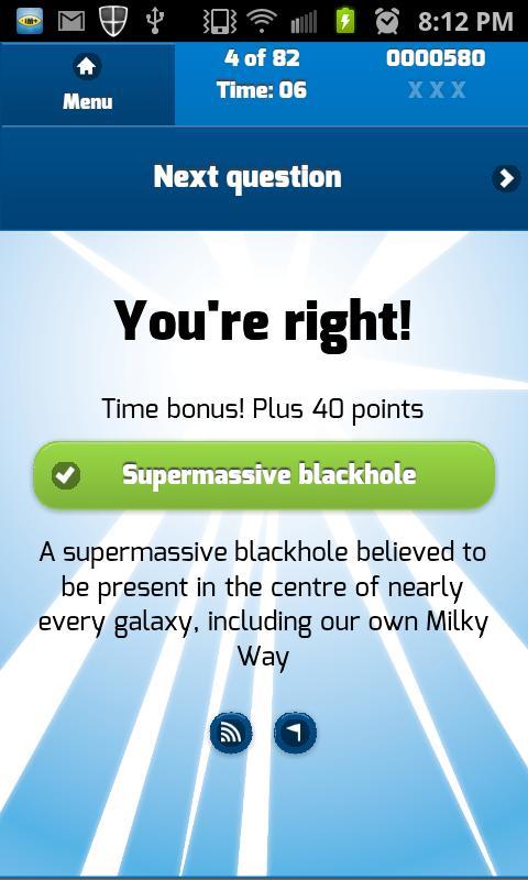 Galaxy clipart science quiz #12