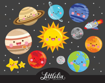 Galaxy clipart solar system Solar clipart system png clipart