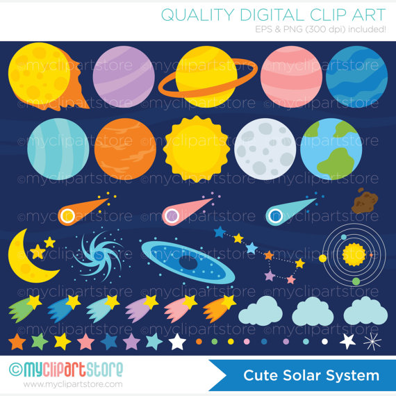 Galaxy clipart solar system Clipart / Galaxy Outer Solar