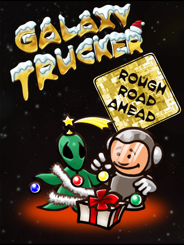 Galaxy clipart space exploration Galaxy Space Trucker: Ahead Road