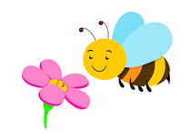 Gallery clipart bee flower Flowers And clipart bees Flowers