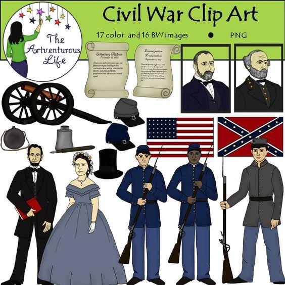 Civil War clipart reconstruction Civil war Art Clip Download
