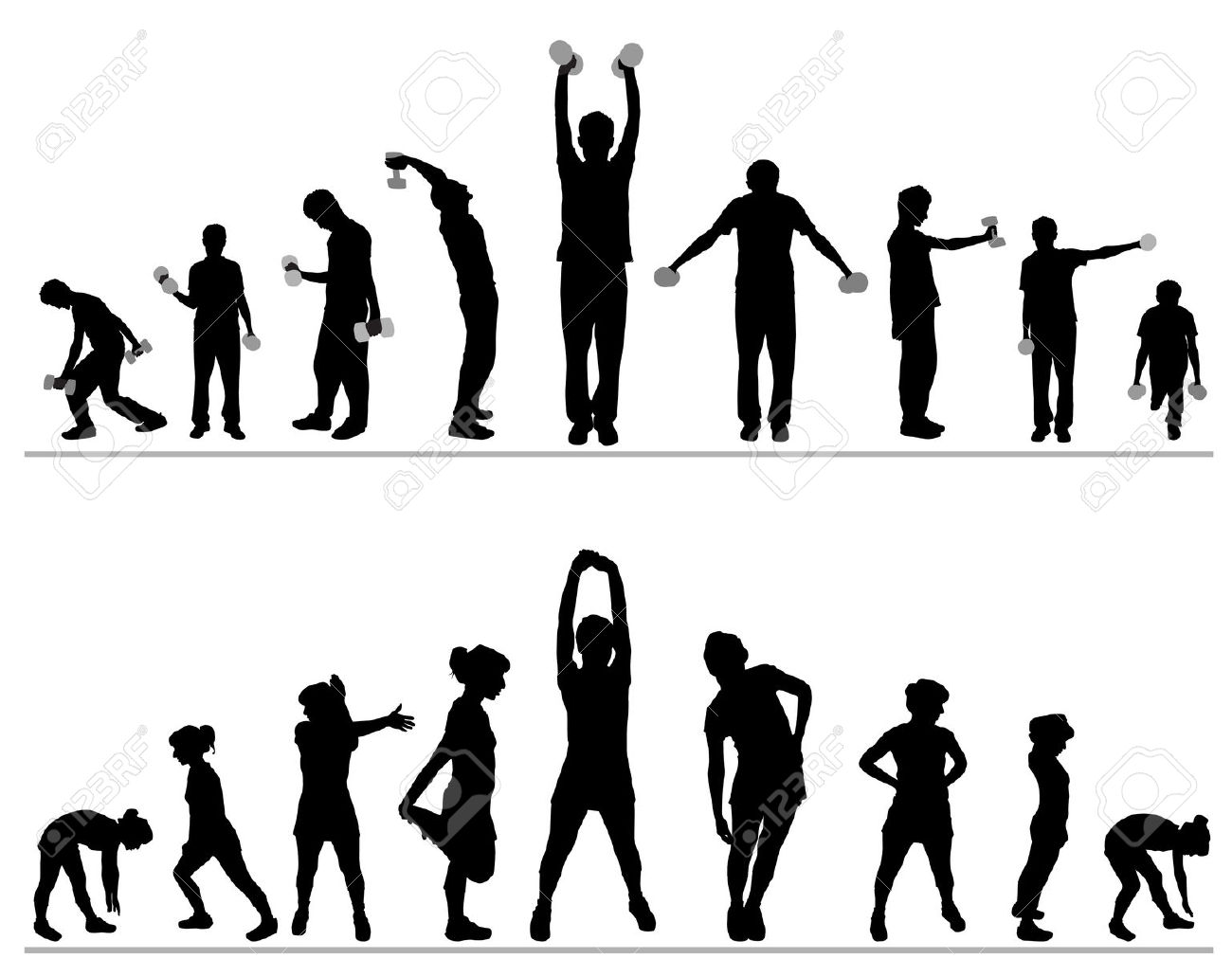 Gallery clipart gym class Exercise Exercise Clipart Clipart Fitness