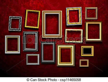 Gallery clipart illustration Ph gallery csp11465058 gallery of