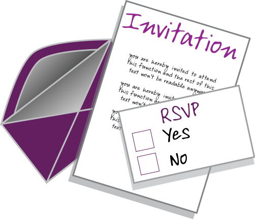 Gallery clipart rsvp And Regrets information: Etiquette Regrets