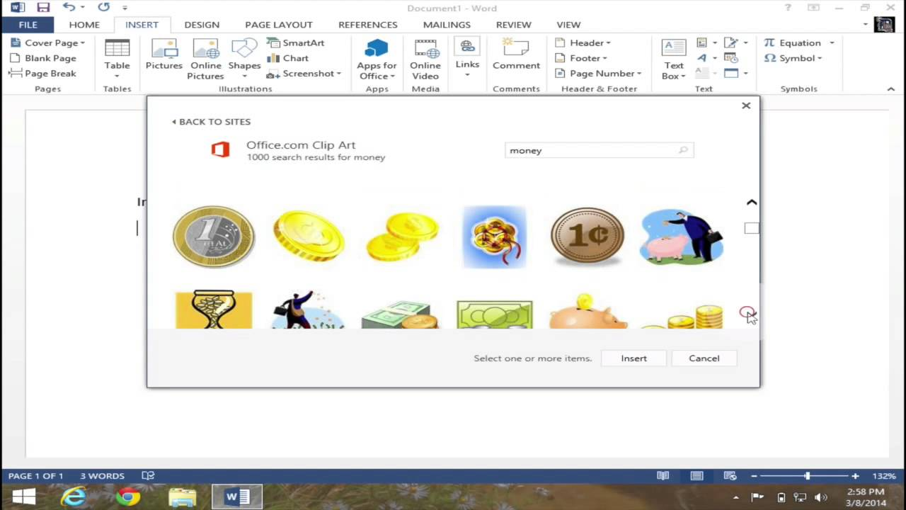 Gallery clipart word 2013 Insert microsoft Art the Clipart