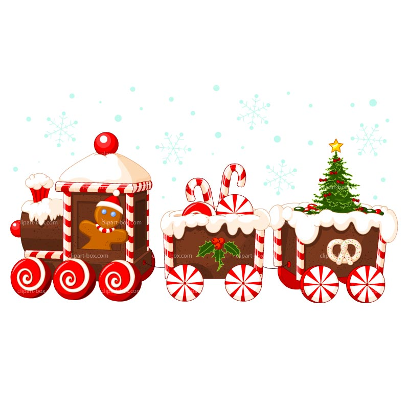 Gallery clipart xmas Collection images Train clipart Christmas