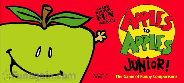 Game clipart apple to apple Apples Funagain Apples Apples Games