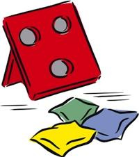Carneval clipart bean bag toss Annual Library of County Public