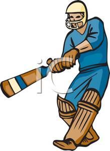 Game clipart cricket A Game a Cricket Athlete