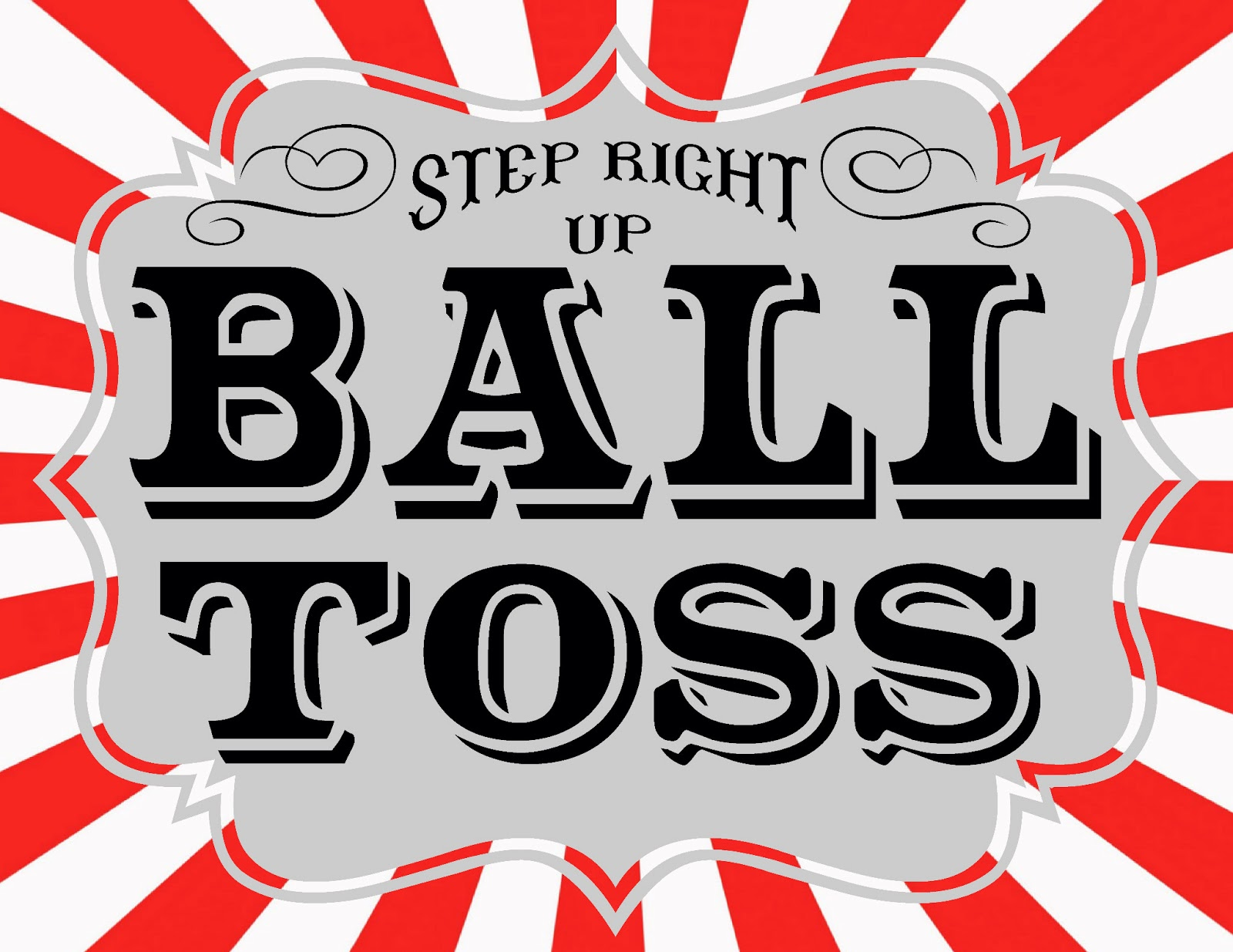 Game clipart football toss Signs Carnival ball+toss shy's Pinterest