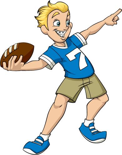 Game clipart football toss Toss cliparts Toss Clipart Football