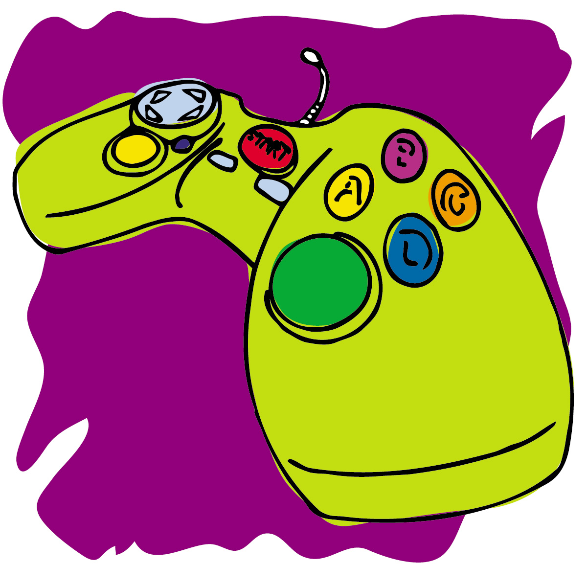 Controller clipart pink Free Game Clipart Clipart Panda